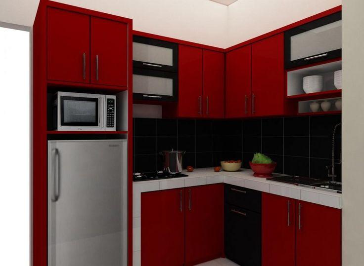 40 Contoh Gambar Desain Dapur Minimalis Sederhana (Dengan ...
