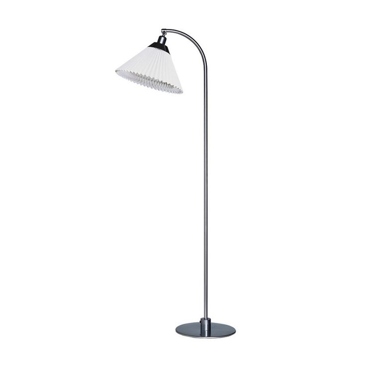 Le klint 368 reading lamp silver metallic le klint design royaldesign