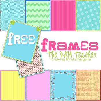 I have included 10 bright and fun frames (digital backgrounds) in this little set for FREE!! You can't beat that..(-;COMMERCIAL USE OKAY!!These are the backgrounds I created for my new printable Valentine's Day Card Clipart Printables (found here: http://www.teacherspayteachers.com/Product/V-Day-Card-Clip-Art-Printables).These are quite versatile and can be used in any theme.