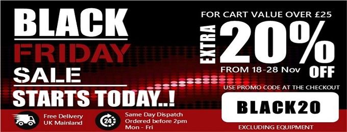 Save 20% Black Friday Sale