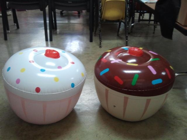 Mis cupcakes para mi classroom