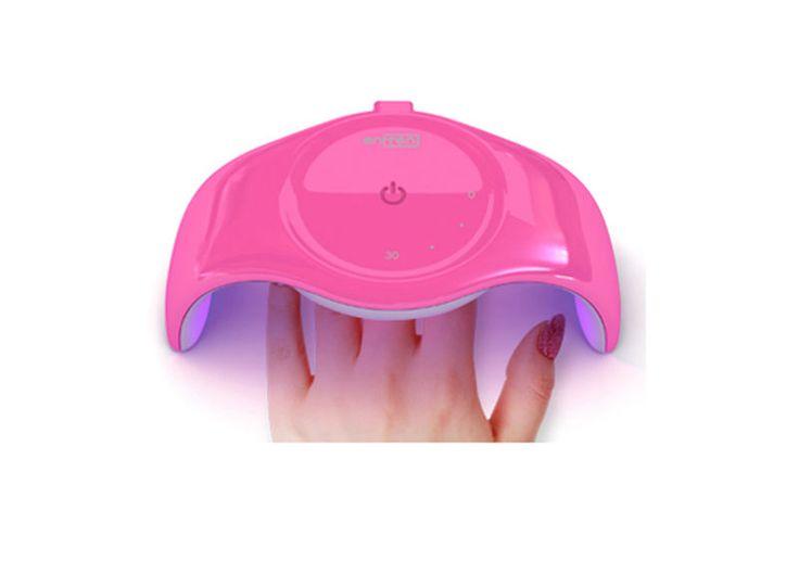 Enfren UV GEL Nail Polish Dryer in 45 sec LED Lamp UV Nail Dryer ES-50 Hot Pink