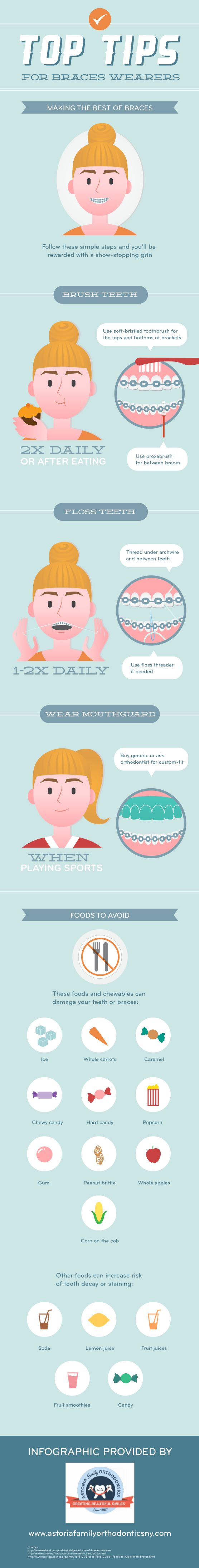 Soda, lemon juice, candy, fruit smoothies, and even fruit juices can stain your teeth and cause decay. Check out this infographic to learn how to clea