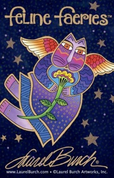 Feline-Faeries by Laurel Burch