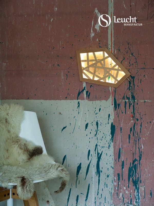 die besten 25 holzleuchte ideen auf pinterest led lampe. Black Bedroom Furniture Sets. Home Design Ideas