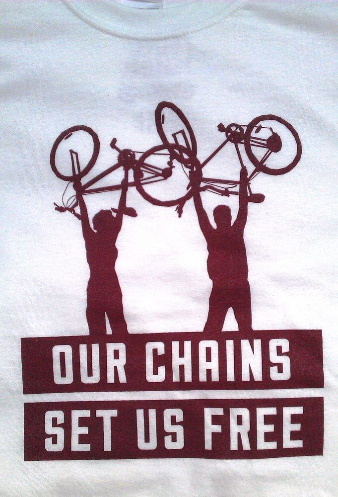 Our chains set us free!