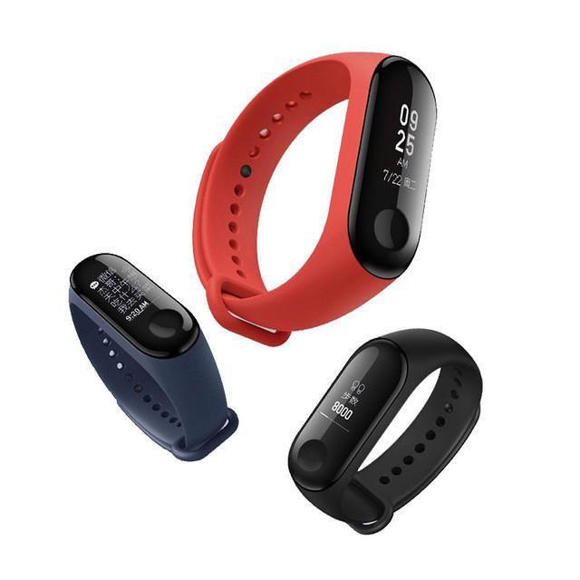 Original Xiaomi Mi Band 3 Smart Wristband Oled Display 50m Waterproof Heart Rate Monitor Bracelet Fitness Smart Watch Smart Band Smart Bracelet