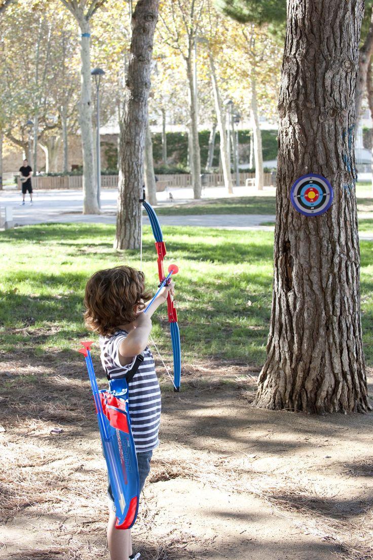Set completo de tiro con arco para niños 🏹🏹🏹 Incluye arco, diana, flechas y bolsa transparente para guardarlo todo ;) #deporte #tiroconarco #niños #juguetes #imaginarium
