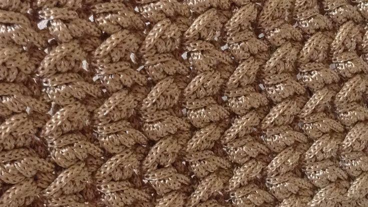 Tutorial Punto freccette uncinetto | Crochet