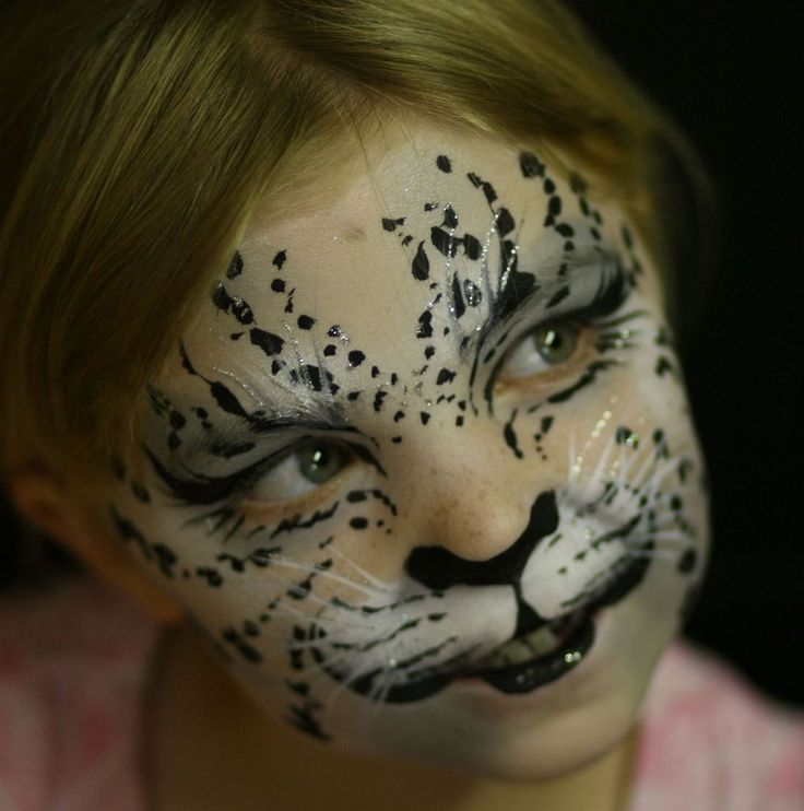 Грим леопарда картинки
