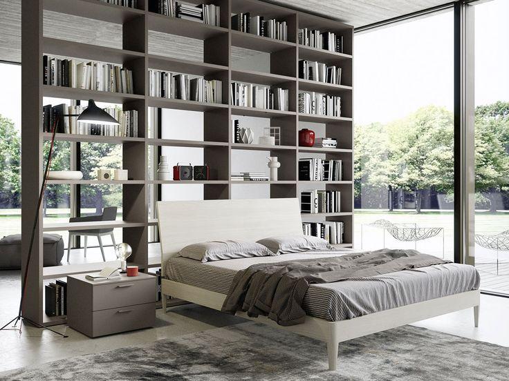 17 migliori idee su libreria per la camera da letto su - Testiera letto libreria ...