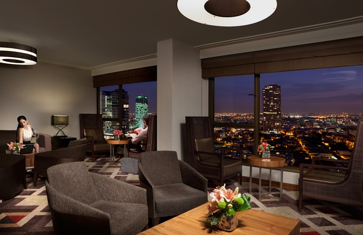 Our Club InterContinental overlooking the beautiful city of Tel Aviv