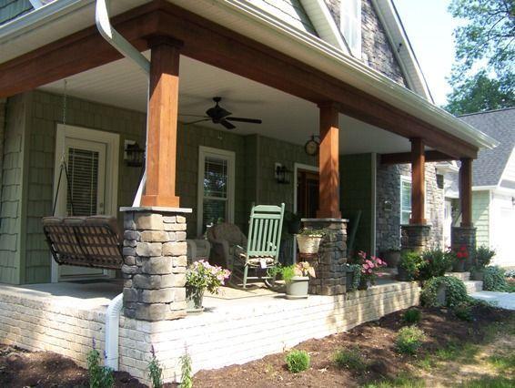 Craftsman Pillar Styles Google Search Porches De Casas Entradas De Casas Columnas De Madera