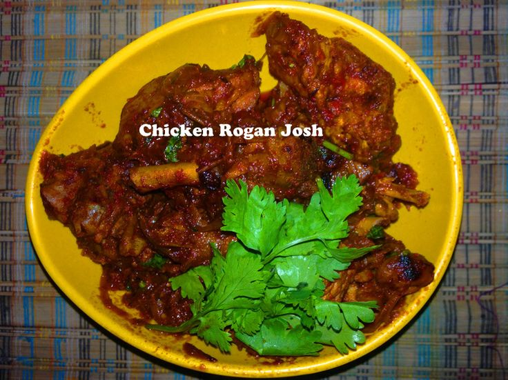 Share this on WhatsApp Chicken Rogan Josh is the dish, which i am sharing today. Friends, rogan josh is the signature of  kashmiri Cuisine and we  always prepare mutton rogan josh. So i thought to try the recipe in the chicken taste instud of mutton. In this dish we need a very limited ingredients. Here i have made it in very easy and simple method . If you got any