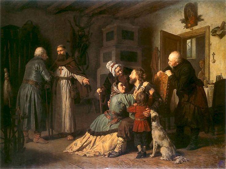 Powrót z jasyru Leopold Löffler