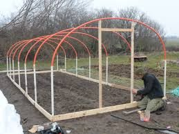 homemade polytunnel - Google Search