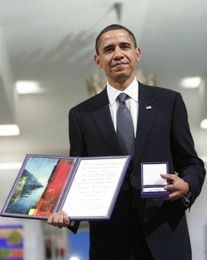 2009 Peace Nobel Prize winner