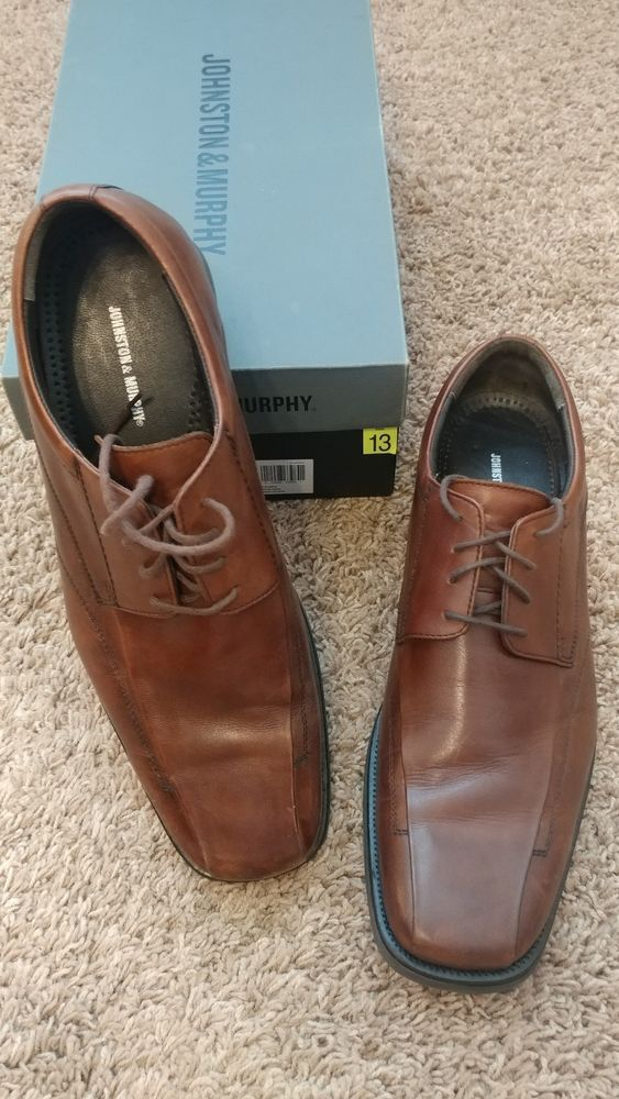 9ffef23bfe1 Johnston Murphy Men s Brown Oxford Dress Shoes Size 13  fashion  clothing   shoes  accessories  mensshoes  dressshoes (ebay link)
