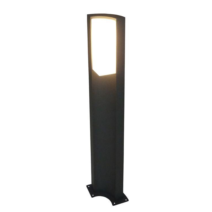 EEK A+, LED-Außen-Stehleuchte Swerve 36-flammig - Grau Aluminium, Näve Jetzt bestellen unter: https://moebel.ladendirekt.de/lampen/stehlampen/standleuchten/?uid=c82349c6-1a0c-5202-af44-b9dc92c5e3e0&utm_source=pinterest&utm_medium=pin&utm_campaign=boards #näve #stehlampen #leuchten #lampen #garten #wege #außenleuchten #pollerleuchten