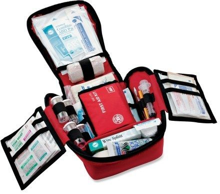 REI Backpacker Plus Extended First-Aid Kit