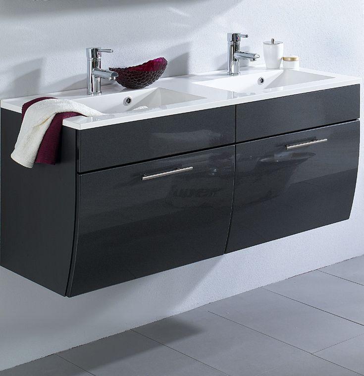 Die besten 25+ Doppel waschtisch Ideen auf Pinterest Haupt-Bad - badezimmer waschtisch mit unterschrank
