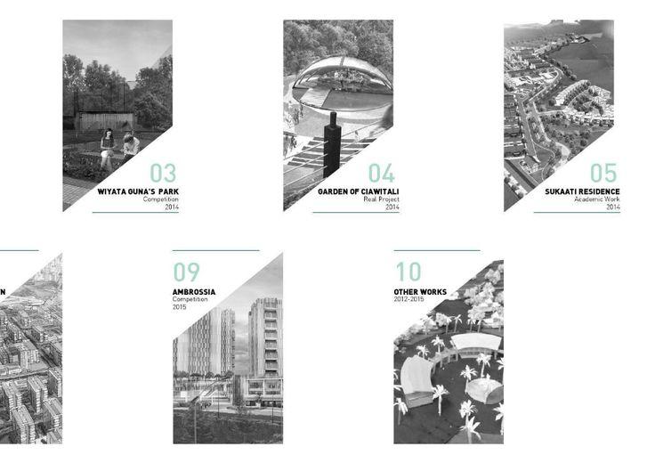 Book layout design pdf architecture portfolio
