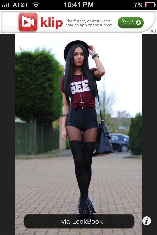 how to wear knee high socks with shorts