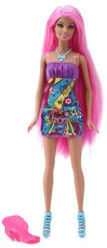 Barbie- Hair-Tastic Doll Luxurious Pink Hair Super-Glitter Barbie,http://www.amazon.com/dp/B005XSE1PO/ref=cm_sw_r_pi_dp_n-Z1sb17PQZM8DRM