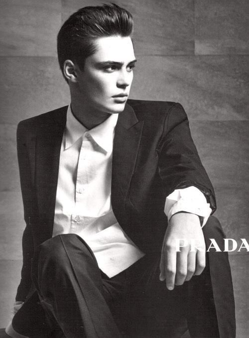 Is it okay to say I want to be in a Prada ad?