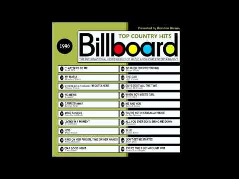 Billboard Top Country Hits - 1996 - YouTube