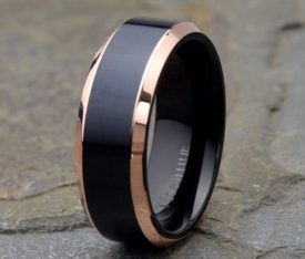 Exceptional Huge Guide To Unique Mens Wedding Bands (35+ Styles)