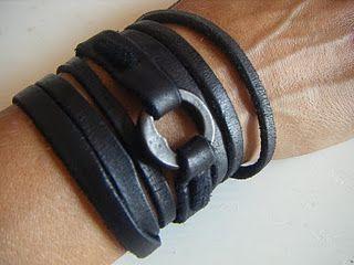 wrist wrap - artemas quibble: Artema Quibbl, Men Bracelets, Men Style, Men Fashion, Fashion Accessories, Leather Cuffs, Leather Wraps Bracelets, Wrist Wraps, Leather Bracelets