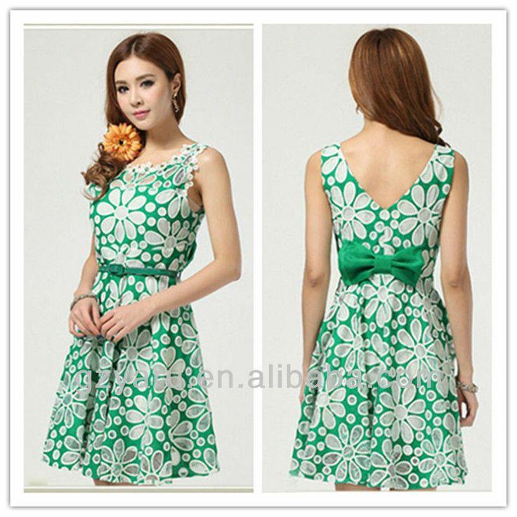 un vestido perfecto para la época primaveral