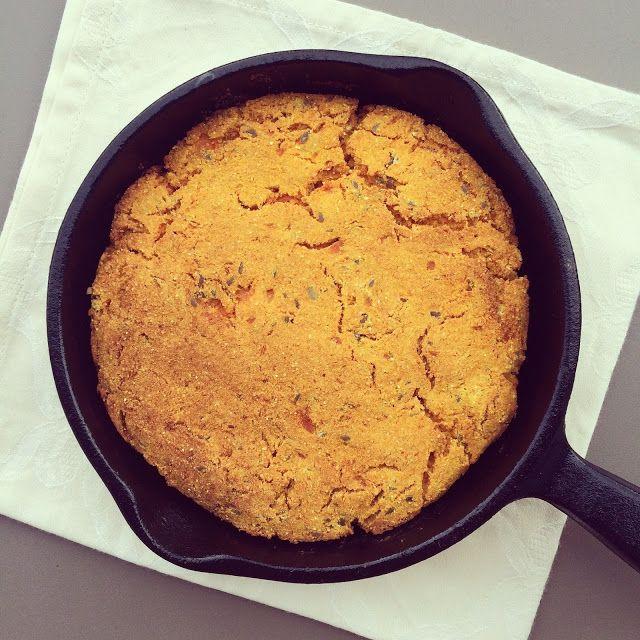 Pain de ma s patate douce la po le cuisine v g tarienne et v g talienne bread muffins et - Cuisiner patate douce poele ...