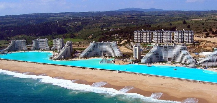 http://www.dailymail.co.uk/news/article-2147443/Worlds-biggest-pool-holds-66-million-gallons-cost-1billion-build.html: Without Alfonso, The Mars, World Largest, Resorts, Swim Pools, Sanalfonso, Alfonso The, The World, Outdoor Pools