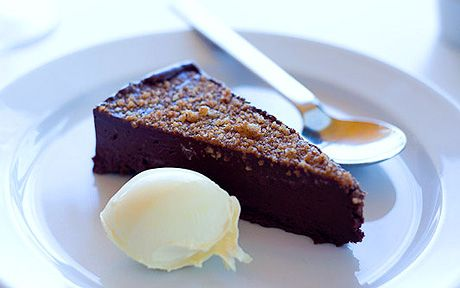 I have tried many chocolate cakes and return again and again to this as a   favourite pudding, says Jeremy Lee.