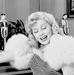 gif marilyn monroe 1950s old hollywood lucille ball i love lucy