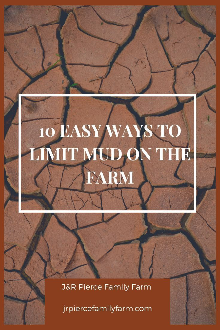 How to Make the Most of Mud on the Farm – J  – Raised Bed Gardening