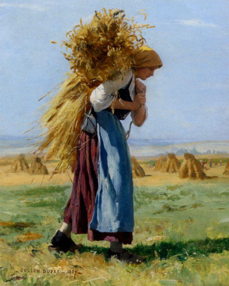 Julien Dupré (1851–1910)|  IN THE FIELDS