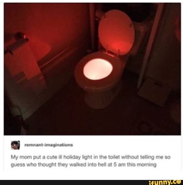 If course the portal to hell is a toilet! That makes complete sense