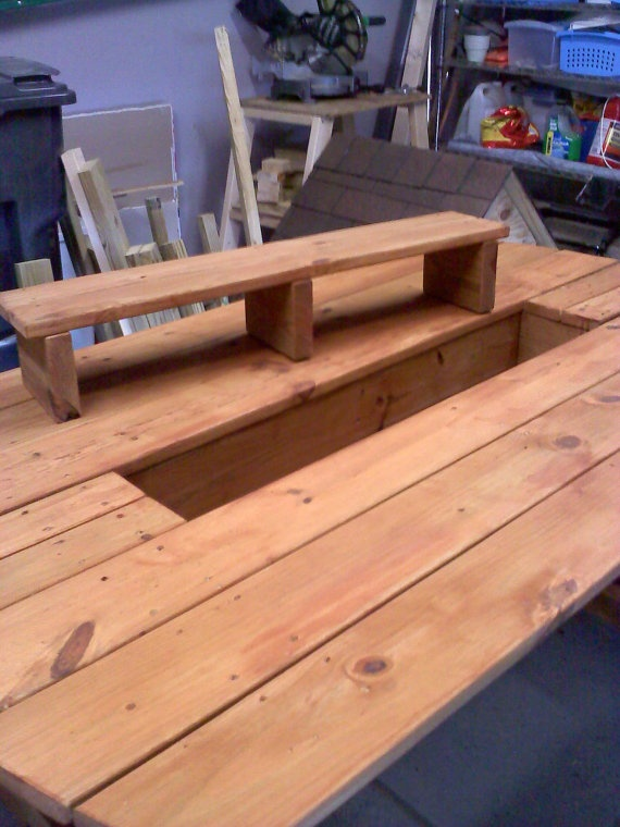 Outdoor Dining Table With Built In Planter Box By Jeremysmith4, $300.00