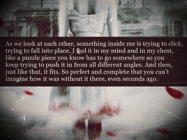 Anna dress in blood