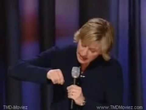 Ellen DeGeneres Comedy Stand Up Act. No swearing no dirty jokes no bad nothing. Just quality funny
