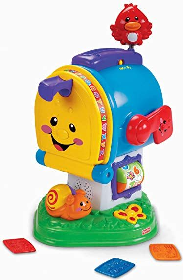 fisher price laugh learn learning letters mailbox review rh pinterest com