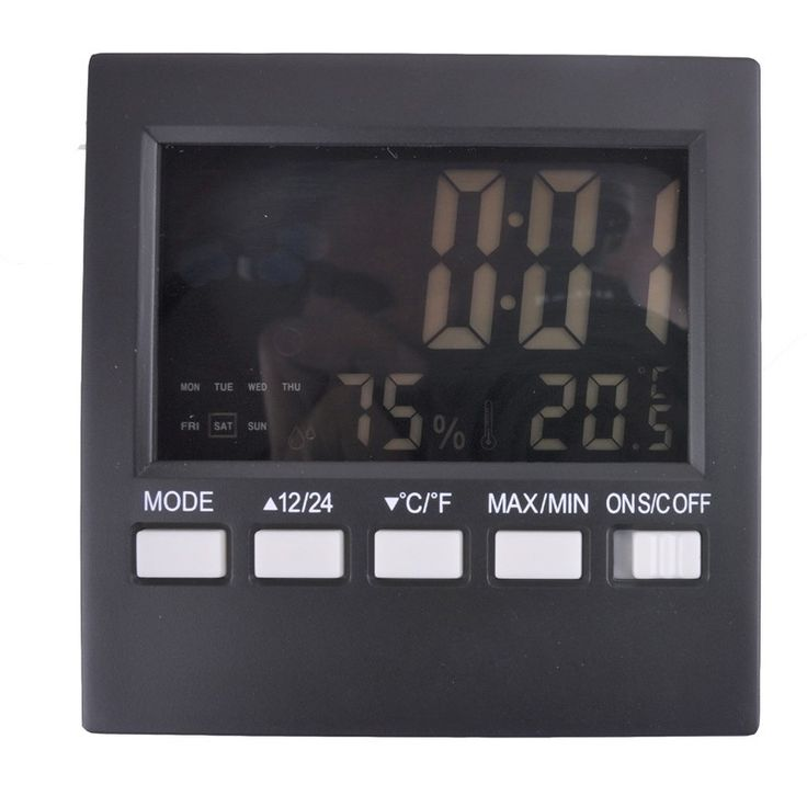 Free shipping, LCD screen electronic temperature and humidity, temperature and humidity of flower room zoo, digital thermometer