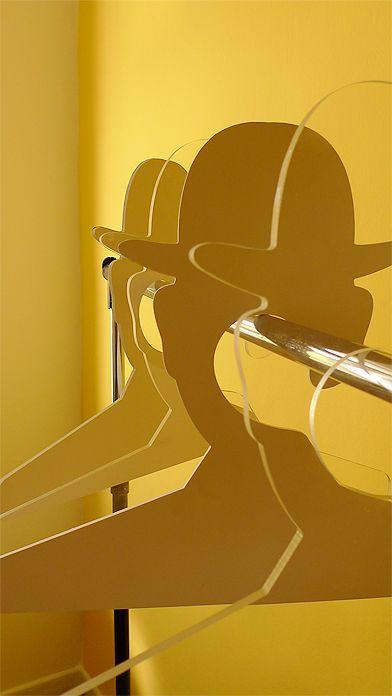 Coat Hanger, Inspired by Rene Magritte