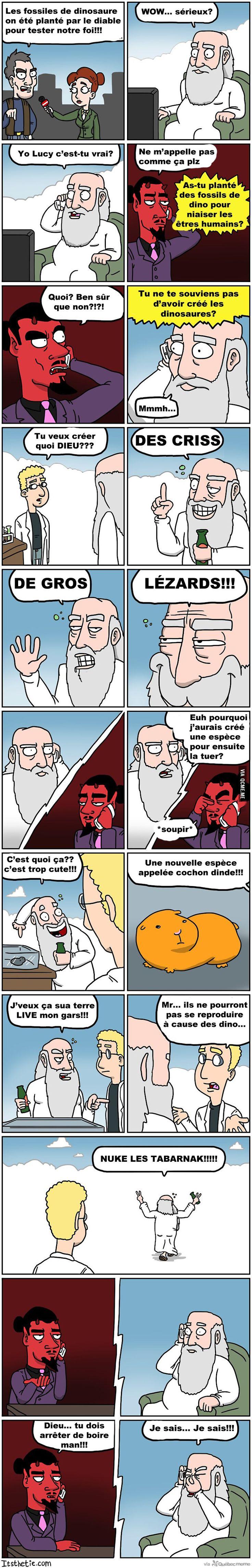 Fossiles – Québec Meme +