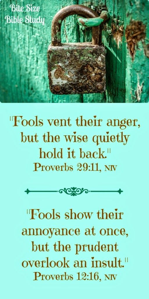 Anger: Be Angry and Do Not Sin | Free Sunday School Lessons