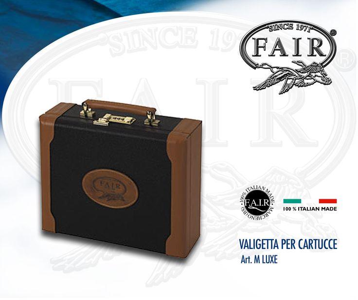 La valigetta Lusso per cartucce F.A.I.R.® è disponibile online su  F.A.I.R.-STORE®, acquista ora qui http://goo.gl/mSRyi4 FAIR® Deluxe leather cartridge case is available online at  F.A.I.R.- STORE®, buy it now here http://goo.gl/DHsLIg