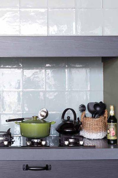 17 beste idee n over keuken wandtegels op pinterest wandtegels tegel en witte tegels - Deco witte keuken ...